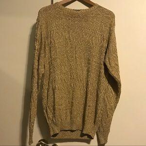 Vintage gold Ralph Lauren sweater